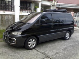 Hyunday Starex for rent in Sihanoukville