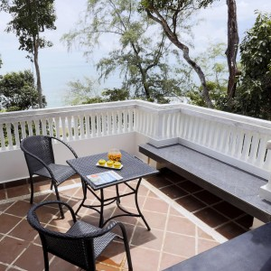 Premier Villa balcony