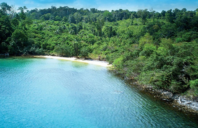 Koh Rong in Cambodia