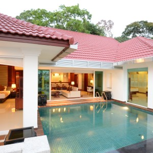 Independence Pool Villa12